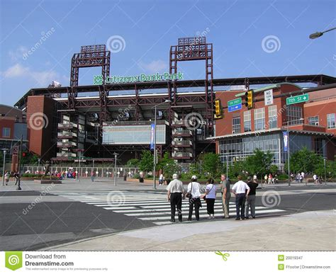 citizens park bank citizens bank park philadelphia phillies editorial photo