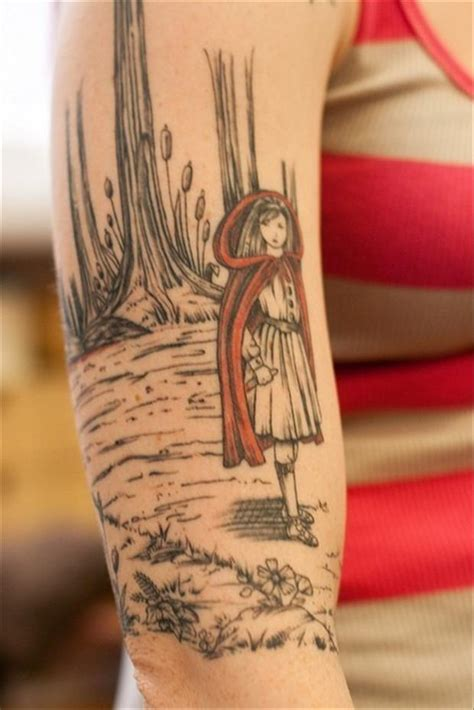 red riding hood tattoo best tattoos dump a day