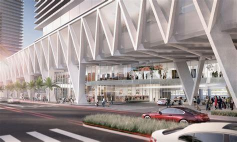 som presents plans   multimodal transport hub  miami