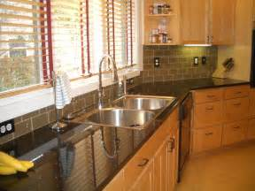 Kitchen Backsplash Tiles Glass by Glass Tile Kitchen Backsplash Special Only 899