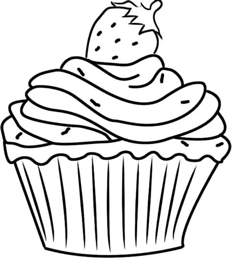 coloring pages free cupcake free cupcake coloring pages az coloring pages