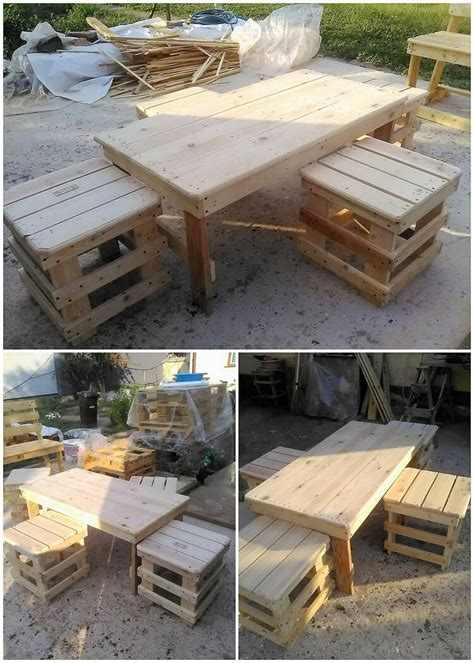 woodworking creations amazing creations with reused wooden pallets pallet wood