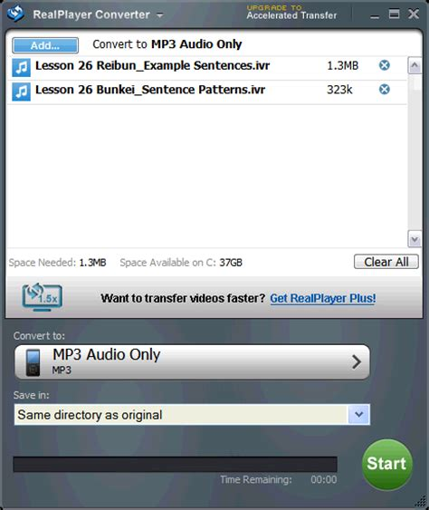 Download Realplayer Mp3 Converter | jackng c h blog convert ivr files to wma or mp3