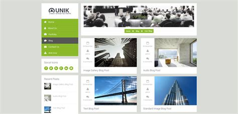 theme wordpress unik unik premium responsive multi purpose drupal theme