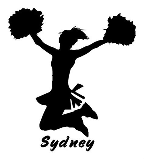 cheerleading clipart cheerleading stunt silhouette clipart clipart suggest