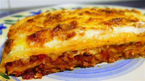 easy lasagna recipe with bechamel sauce tasty food recipes for dinner to make at home youtube