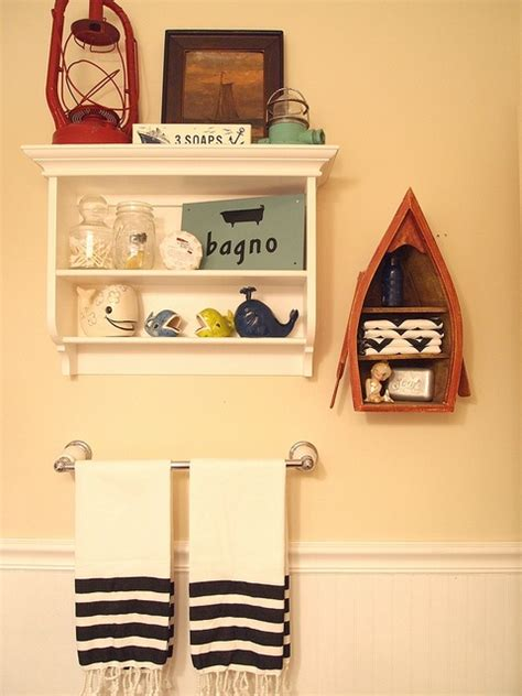 nautical bathroom shelves 1000 images about nautical themed bathrooms on pinterest