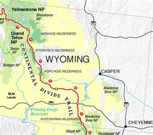 cdt continental divide trail maps by state
