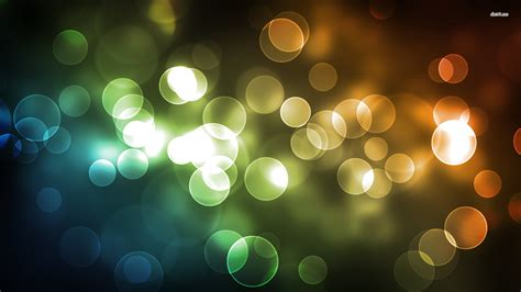 Bubble Light Night Light Blurry Bubbles Wallpaper Abstract Wallpapers 3355