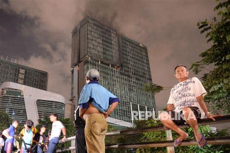 Bel Kebakaran 731 kebakaran terjadi di jakarta sejak januari hingga