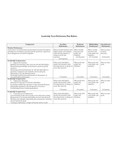 performance plan templates  word format   premium templates