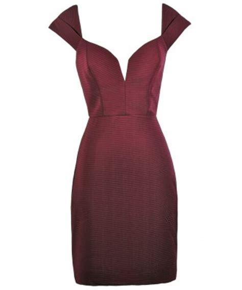 Bustier Zipper Polyester Maroon maroon pencil dress burgundy pencil dress maroon