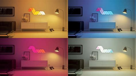 Empty Room Pictures by Nanoleaf Aurora Starter Kit 9 Panels Envision