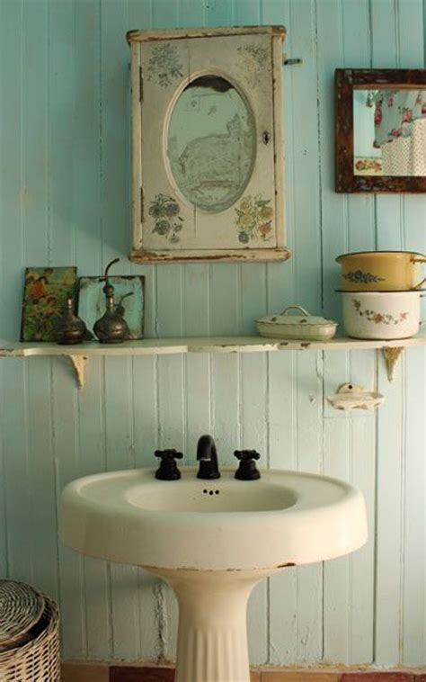 vintage bathrooms shabby chic bathroom ideas