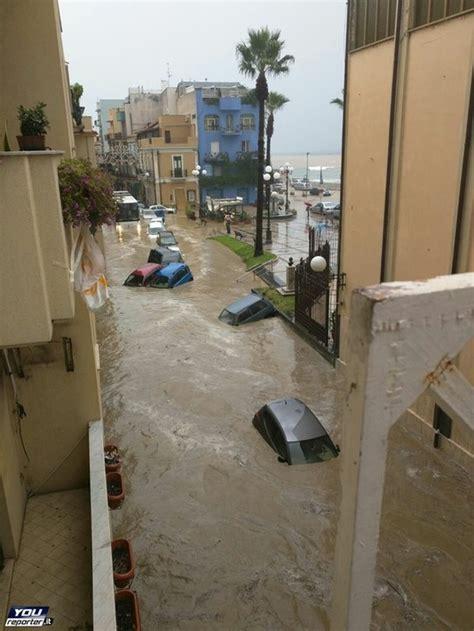 meteo per giardini naxos alluvione sicilia nubifragio e allagamenti a giardini