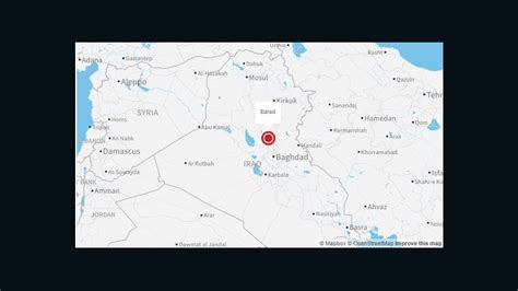 balad iraq map attacks iraqi shiite shrine 40 dead officials say