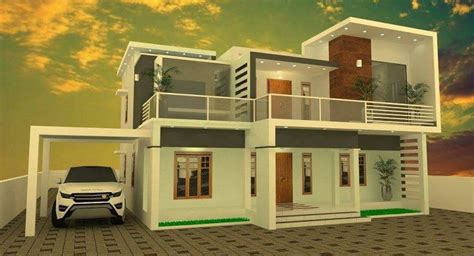 image detail for modern house plan 2800 sq ft kerala home design architecture home 2800 square feet double floor contemporary home designs
