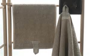 bath towels with hanging loops set of 3 quality linen towels featuring a sturdy hanging
