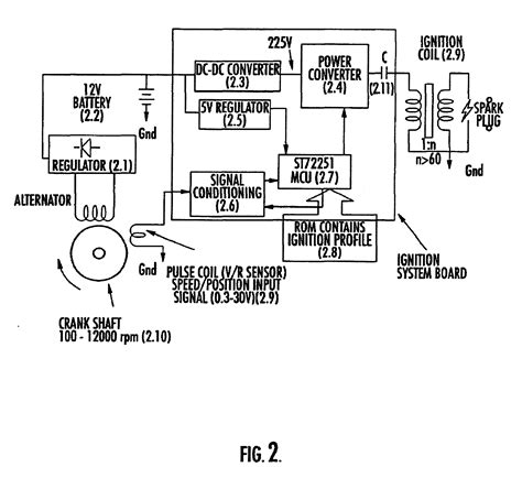 how capacitor discharge ignition system works patent us6662792 capacitor discharge ignition cdi system patents