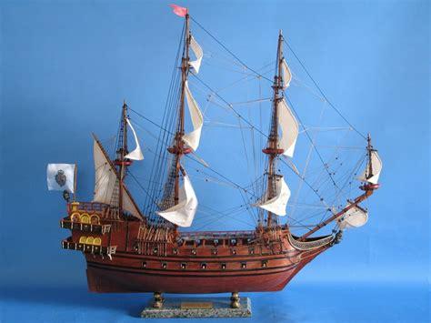 Handmade Model Ships - buy galleon 30 inch model boats wooden ship