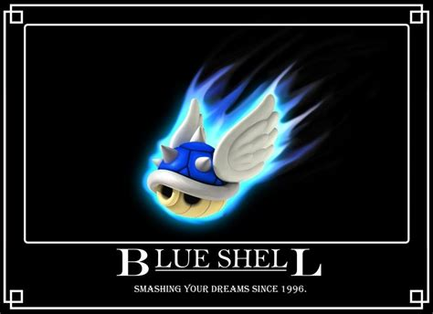 Mario Kart Blue Shell Meme - the blue shell alternative imp ervious