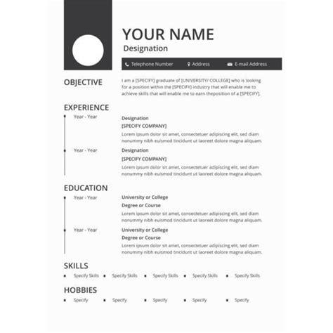resumemplates magnificent format pdf samples luxury classy job