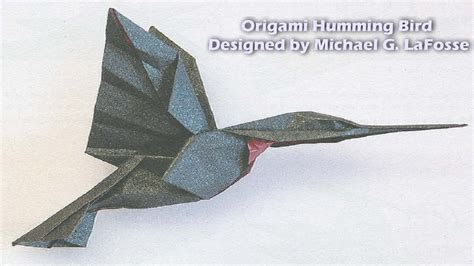 Hummingbird Origami - origami humming bird hd