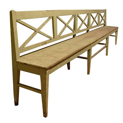 extra long bench extra long bench at 1stdibs