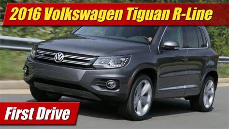 volkswagen tiguan 2016 r line drive 2016 volkswagen tiguan r line testdriven tv