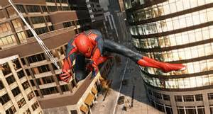 spiderman swinging games review the amazing spider man game talkingship