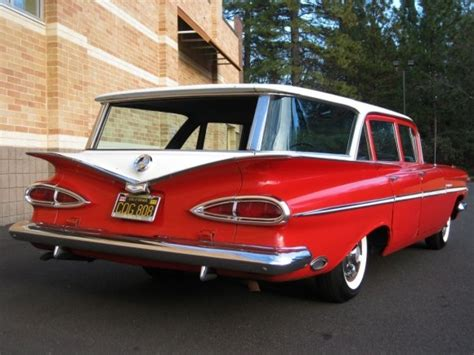 chevrolet 1959 parkwood 4door station wagon the history black plate survivor 1959 chevrolet parkwood bring a