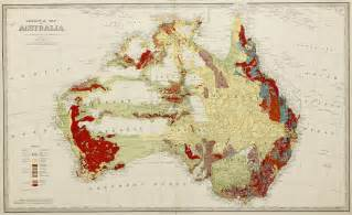 geological map geological map of australia