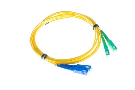 Patchcord Scapc Scapc Singlemode Duplex 40 Meter sc fiber cable os2 singlemode duplex 3 meters ships fast