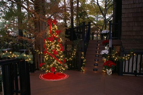 holiday lighting ideas for decks outdoor lighting for decks room ornament