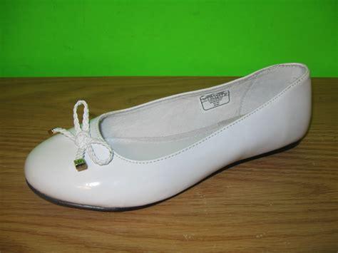 polo flat shoes new polo ralph white ballet dress flats shoes
