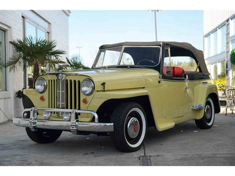 willys jeepster for sale 1949 willys jeepster for sale classiccars com cc 1051750