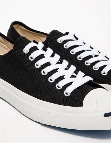 Jual Converse Purcell Black converse purcell canvas black in black for lyst