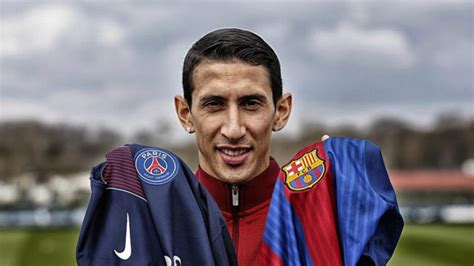 Spanish La Liga Table Di Maria We Want To Knock Out Barcelona And I See A