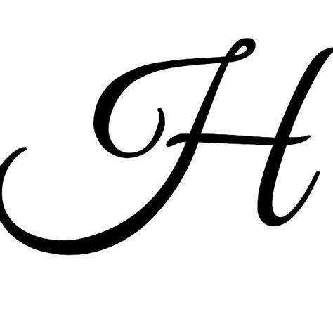 Cursive H - Dr. Odd H Alphabet In Style
