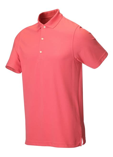 Golf Polo Shirt Greg Norman Golf Golf Clothing Shirts Persimmon Greg Norman Protek