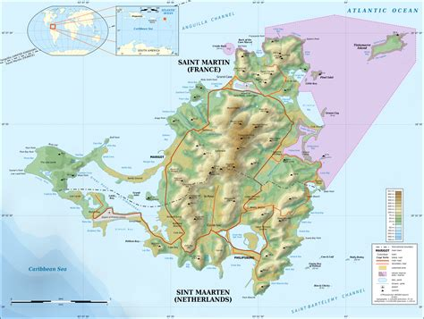 map st island file martin island topographic map en svg