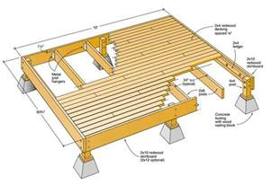 deck plan get do it yourself deck plans