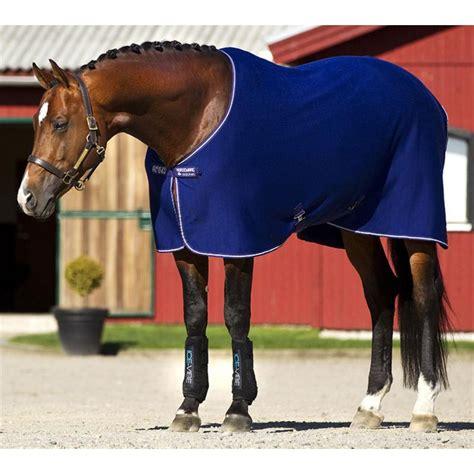 horseware cooler rug amigo jersey cooler rug atlantic blue ivory at burnhills