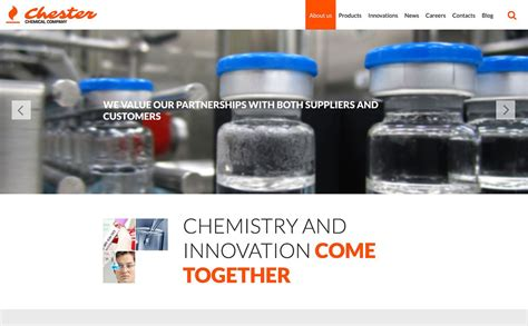 Chemical Company Website Template 52859 Chemical Website Templates