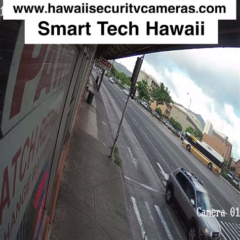 smart tech hawaii home security business cctv