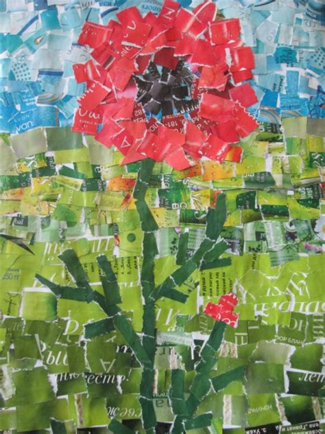 How To Make A Paper Mosaic Collage -