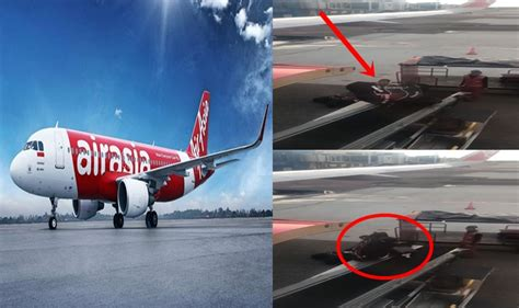 airasia cargo airasia porters mishandling luggage resulting to damaged