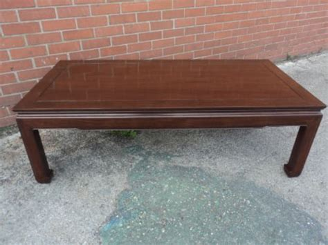 antique rosewood low coffee table