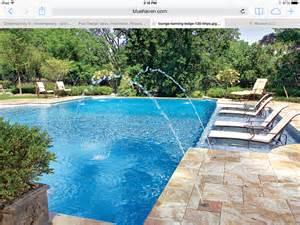 sun shelf pool