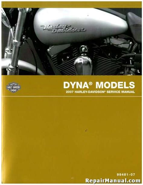 2007 Harley Davidson Dyna Motorcycle Service Manual Harley Davidson Wide Glide Specifications